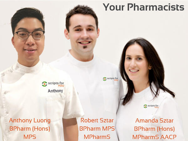 Your pharmacists